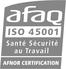 Logo AFAQ 45001 - CCI Port de Saint Cast