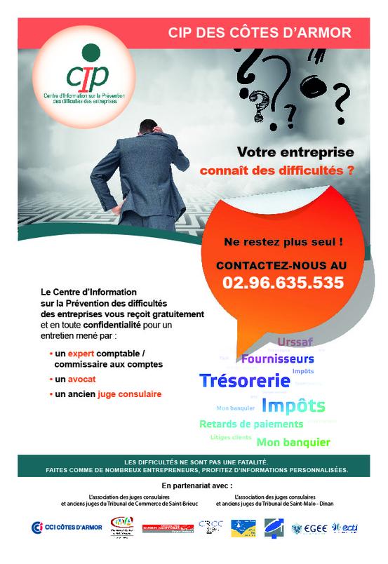 Entreprises en difficult s n unique 02 96 635 535 for Chambre de commerce et industrie