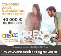 Concours Création entreprise CRE'ACC 2017