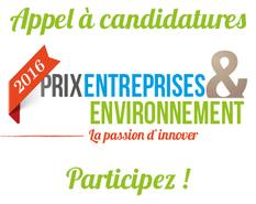 Prix entreprises environnement