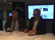 Partenariat CCI Village by CA 22